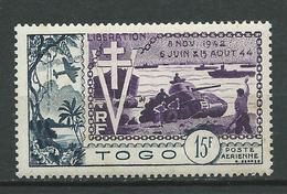 TOGO 1954 . Poste Aérienne N° 22 . Neuf * (MH) . - Unused Stamps