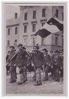 """DT- Reich (002057) Propaganda Sammelbild """"""""Deutschland Erwacht"""""""" Bild 14, Die Oberländer Bei Der Fahnenweihe In München - Briefe U. Dokumente"""
