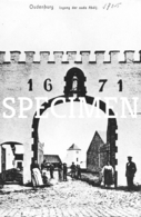 Ingang Der Oude Abdij 1925 - Oudenburg - Repro - Oudenburg