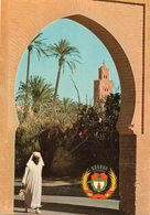 "Marrakech - Armoiries De Marrakech ""La Koutoubia' - Marrakech"