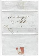 NAPOLEONE - ARMEE D'ITALIE - PESARO - 16 THERMIDOR - AN.9 ( 4.7.1801 ). - ...-1850 Préphilatélie