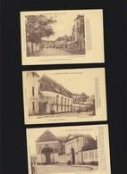 Nantes Ancien Ed.Guenault / Lot De 3 CP / Nos 9 21 41 Ancien Lycée Entree, Refectoire, Rue - Nantes