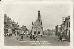 Herentals -Groote Markt En Stadhuis 1939 - Herentals