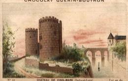 CHOCOLAT GUERIN BOUTRON  Chateau  De Cinq Mars - Guerin Boutron