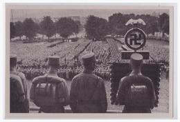 """DT- Reich (002112) Propaganda Sammelbild Deutschland Erwacht"""""""" Bild 78, Das Erwachende Deutschland Gera 1931 - Briefe U. Dokumente"""
