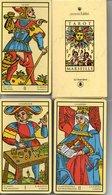 Tarot De Marseille  Cartomancie Voyance Jeu De 21 Cartes A Jouer- Playing Card TBE - Tarocchi