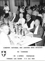 CONGRES NATIONAL Des ANCIENS SOUS OFFICIERS De CARRIERE - 1974 - War, Military