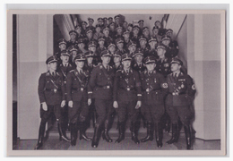 """DT- Reich (002127) Propaganda Sammelbild Deutschland Erwacht"""""""" Bild 185, SS Führer Himmler Mit Den Führern Der SS - Alemania"""