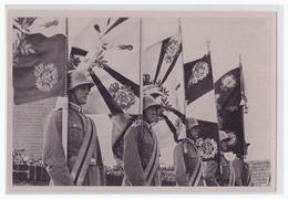 """DT- Reich (002128) Propaganda Sammelbild Deutschland Erwacht"""""""" Bild 150, Preußens Glorreiche Fahnen Flattern - Briefe U. Dokumente"""