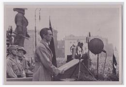 """DT- Reich (002131) Propaganda Sammelbild Deutschland Erwacht"""""""" Bild 127, Dr. Goebbels Eröffnet Die Kundgebung Der Jugend - Alemania"""