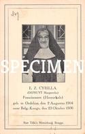E.Z. Cyrilla - Defruyt Margaretha - Oedelem - Beernem