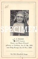 E.Z.Marie - Claeys Augusta - Oedelem - Beernem