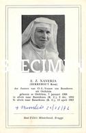 E.Z. Xaveria - Herrebout Rosa - Basankusu - Oedelem - Beernem