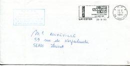 MORBIHAN De LANESTER Flamme En P.P. Sur Env. De 1990 - Marcophilie (Lettres)