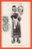 X09010 Jeune Femme BETHMALE (09) Pyrénées Ariégeoises 1910 De MARTY à PANNIER Rue Jean Du Bellay Paris IV LABOUCHE 167 - France