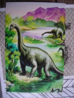 CPM (Ladybird Books) Dinosaurs In A Swamp, Dinosaures Dans Un Marais - Illustrateurs & Photographes