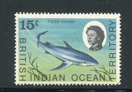 OCEAN INDIEN- Y&T N°18- Neuf Sans Charnière ** (requins) - Territoire Britannique De L'Océan Indien