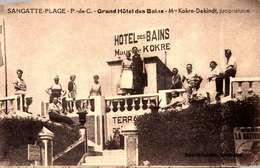 [62] Pas De Calais > Sangatte /  GRAND  HOTEL DES  BAINS   /LOT  3028 - Sangatte