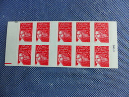 Carnet N° 3419-C10 Marianne De LUQUET  Super ARISTO - Usage Courant