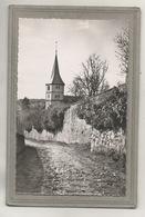 CPSM Dentelée - BARR (67) - Aspect De L'ancien Chemin D'accès à L'Eglise Protestante En 1950 - Barr