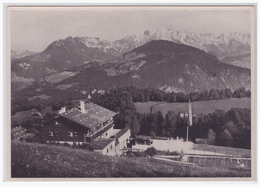 DT- Reich (002173) Propaganda Sammelbild Deutschland Erwacht Bild 192, Das Haus Des Führers Adolf Hitler - Briefe U. Dokumente