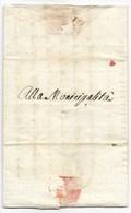 NAPOLEONE - REPUBBLICA CISALPINA - PESARO - 24 FIORILE - AN.9 ( 13.5.1801 ). - ...-1850 Préphilatélie