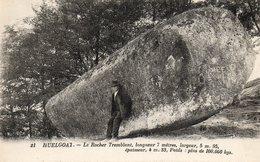 Huelgoat.....le Rocher Tremblant - Huelgoat