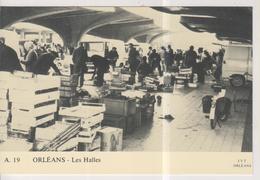 CPM-( P.F.)- 45-Loiret- ORLEANS- Les Halles- - Orleans