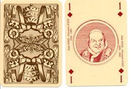 Carte à Jouer  Pape JEAN XXIII - GIOVANNI XXIII  Religion Playing Card - Speelkaarten