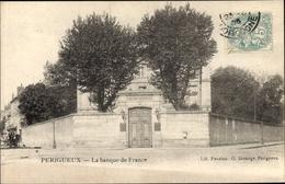 Cp Périgueux Nouvelle-Aquitaine Dordogne, La Banque De France - Francia