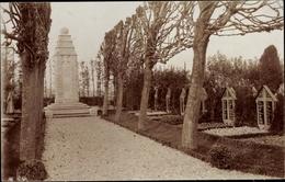 Cp Bapaume Pas De Calais, Friedhof - Francia