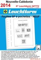 Feuilles Nouvelle-Calédonie 2014 à Pochettes SF Leuchtturm 347772  - NEUF ..Réf.DIV20157 - Albums & Reliures