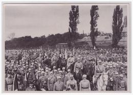 """DT- Reich (002211) Propaganda Sammelbild Deutschland Erwacht"""""""" Bild 21, Deutscher Tag In Nürnberg 1923 - Briefe U. Dokumente"""