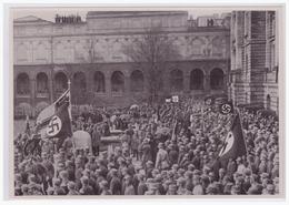 """DT- Reich (002212) Propaganda Sammelbild Deutschland Erwacht"""""""" Bild 23,Grundsteinlegung Des Gefallenendenkmals In Münche - Briefe U. Dokumente"""