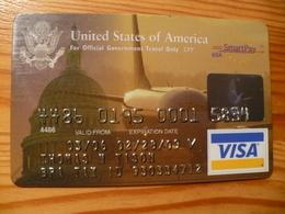 Citibank VISA Credit Card USA - Carte Di Credito (scadenza Min. 10 Anni)