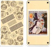 Tarot Carte à Jouer Timbre Stamp Peinture Peintre M. CHAGALL Playing Card - Tarots