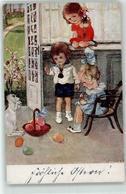53147211 - Kind Hase Ostern BKWI - Künstlerkarten