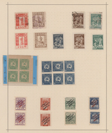 Georgien: 1919-23 Collection Of About 150 Mint And Used Stamps Including Multiples, Specials Like Tê - Georgien