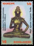 Bangladesh 2000 MNH, Archaeology, Statue, Buddha, Mainamati, Religion - Buddhism