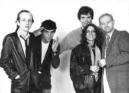"""Cliché Des Chanteurs """" CARON, Jean-François DOLL, Philippe LAFONTAINE, Isabelle PERUZAT, William SHELLER """"  Voir Descri - Entertainers"""
