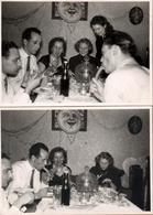 2 Amusantes Photos Originales A Manger ! L'Art De Déguster Une Saucisse, Suceurs Ou Croqueurs Au Choix ! 1950/60 - Pin-Ups