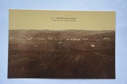 CAMBO-les-BAINS-vue Sur Le Vieux Cambo-offerte Par Chocolat Vinay-papier Glace - Cambo-les-Bains