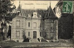 Cp Longueville Seine Et Marne, Chateau De Besnard - Frankrijk