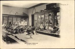 Cp Grignon Yvelines, Ecole Nationale D'Agriculture De Grignon, La Salle De Dessin, Gänse, Enten - Frankrijk
