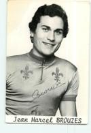 Jean Marcel BROUZES, Autographe Manuscrit, JO Montréal 1976 . 2 Scans. Cyclisme. - Cycling