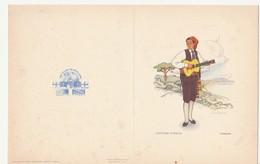 Dettagli Su  PRANZO Nave Crociera VULCANIA - ADRIATICA TIRRENIA - Genova - COSTUMI CAMPANIA - Dépliants Turistici
