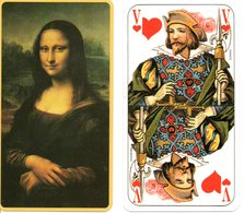Tarot Carte,à Jouer,peinture MONA LISA Playing Card - Tarot