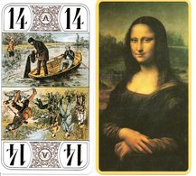 Tarot Carte,à Jouer Peinture MONA LISA Playing Card - Tarot