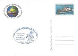 "TAAF Entier Postal "" MARION DUFESNE 2008 - Cachet Planète Timbres Pingouin "" Neuf - Enteros Postales"