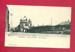 C.P. Gosselies =  Rue  LEOPOLD  :  Ecole  Des  Filles - Charleroi
